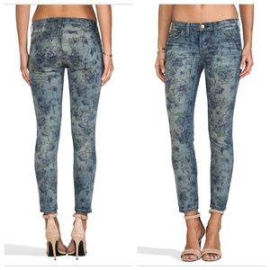 Current/Elliot   The Stiletto Skinny Jeans Cropped